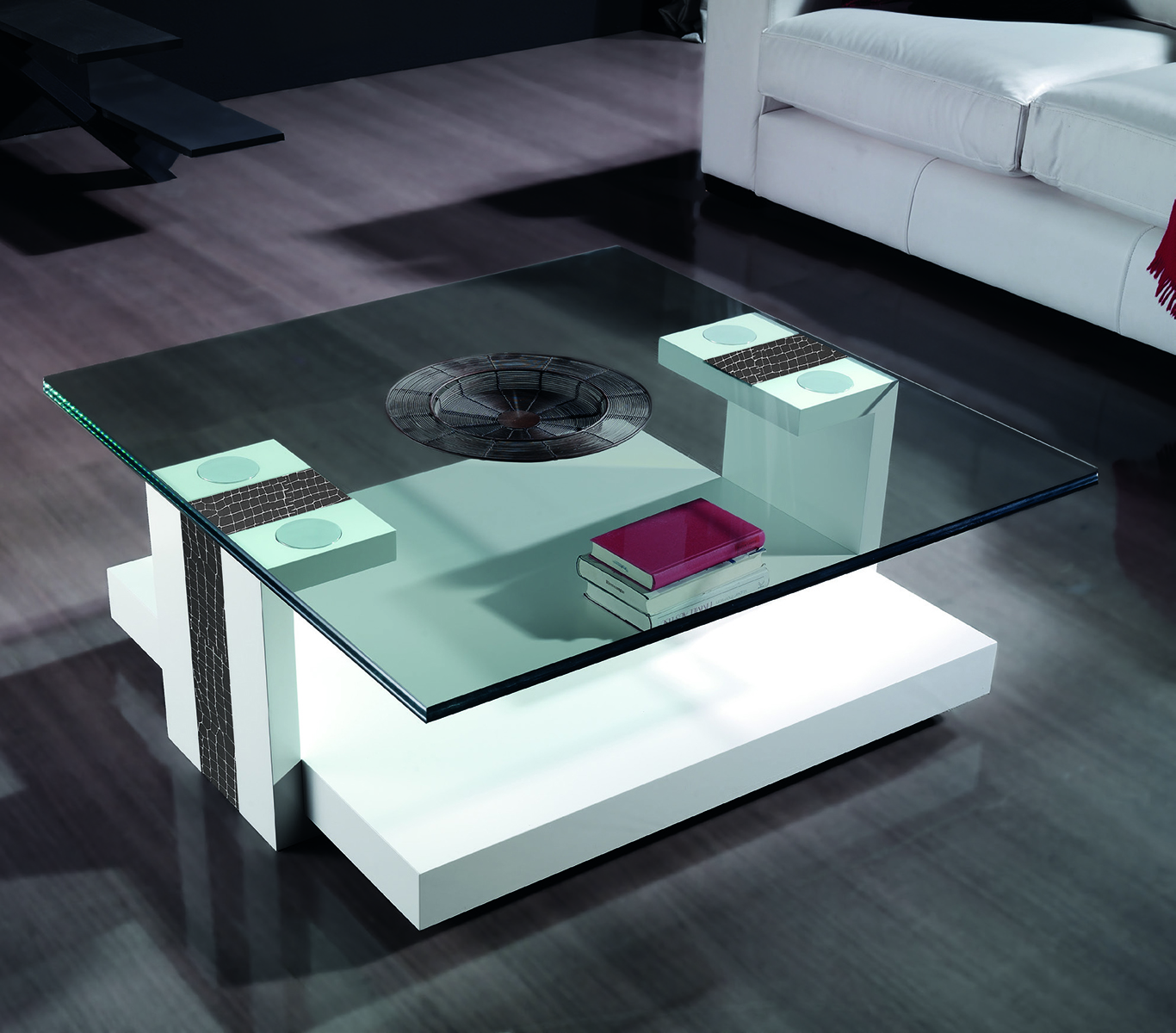 Mesas de centro modernas - Mesas recibidores modernos ...